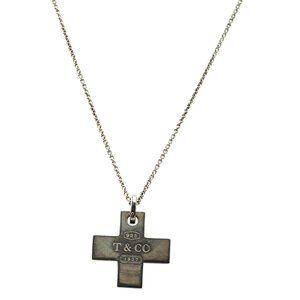 Tiffany & Co. Double Plus 925 1mm Pendant 179467